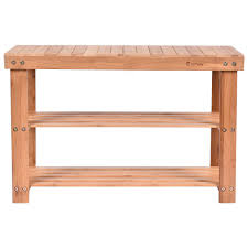 Shoerack Bench 2 Tier Bamboo Shoe Rack Storage Bench Storage U0026 Entryway Benches