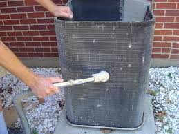 Exterior Central Air Conditioner Cover - how to clean central air conditioning condenser coils