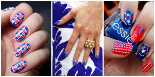 20 red white and blue nail designs for the 4th of july