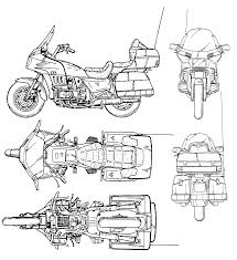 Free Blueprints Motorcycle Blueprints Download Free Blueprint For 3d Modeling