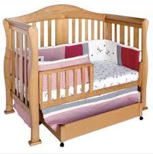 Oak Convertible Crib Oak Convertible Crib And Baby Design Ideas