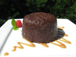 the happy raw kitchen raw chocolate lava cake