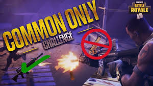 Challenge On Common Only Challenge On New Patch Clutch Ending Fortnite