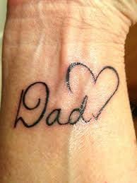 image result for dad memorial tattoos for daughters tatoos