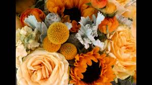 Sunflower Wedding Bouquet Sunflower Wedding Bouquets U0026 Centerpieces Youtube