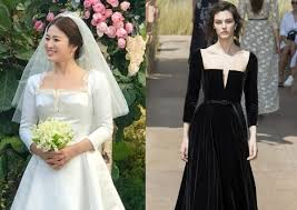 wedding dress song song hye kyo s 12 200 wedding bouquet said to cost more than