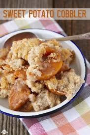 sweet potato cobbler southern bite