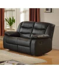 Black Leather Reclining Sofa And Loveseat Amazing Deal On Layla Black Faux Leather Reclining Loveseat