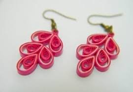 quiling earrings 15 simple and paper quilling earrings designs