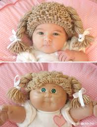 Cabbage Patch Doll Halloween Costume Crochet Cabbage Patch Doll Inspired Hat Repeat Crafter