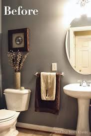 bathroom wall stencil ideas fabulous faux bois stenciled powder room stencil stories