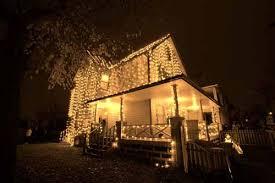 2 story christmas lights christmas vacation a christmas story house
