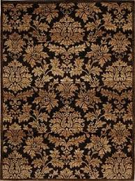 Damask Rugs Gorgeous Design Ideas 8x10 Brown Area Rugs Exquisite Details About