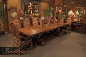 old world dining room tables old world dining room furniture home and room design