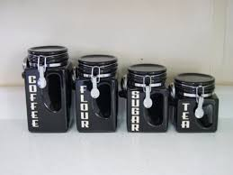 black kitchen canisters ceramic kitchen canisters southbaynorton interior home