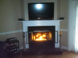 corner gas fireplaces upgrade old corner gas fireplace with stone