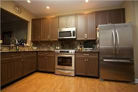 Kitchen  Natural Stone Backsplash Laminate Kitchen Cabinet Modern - Laminate kitchen cabinet refacing