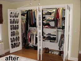ten foot wide reach in closet with california closets type