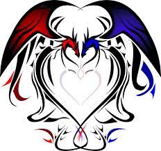 heart dragons by silentsleeper on deviantart