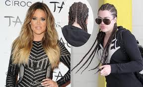 khloe kardashian photos hollywood hair chameleons ny daily news