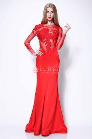 samara weaving pretty illusion lace and satin red celebrity
