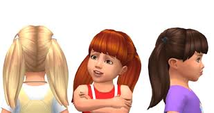 childs hairstyles sims 4 lana cc finds toddler hair 1 sims 4 toddler cc pinterest
