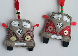 vw van christmas decorations volkswagen bus decorations handmade