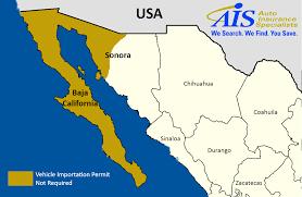 Durango Mexico Map Mexico Auto Insurance Coverage Ais Auto Insurance Specialists