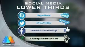 lower thirds social media free template sony vegas pro 11 12 13