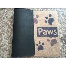 Wipe Your Paws Mat Decorative Mdct Personality Words Desgin Welcome Door Mats Hola Go Away Wipe
