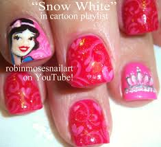 3 nail art tutorials diy snow white nails short nails with