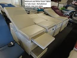 refurbished exam tables for sale midmark and ritter exam tables for sale used refurbished used