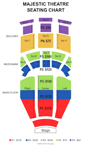 o2 floor seating plan seating chart majestic theater furniture theatre box office
