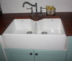 Double Butler Sink With Wooden Bench Top Httpwww - Belfast kitchen sink