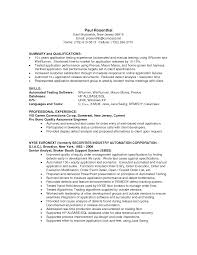 Sample Resume Product Manager by Qa Tester Cv Sample Test Analyst Resume Samples Visualcv Resume