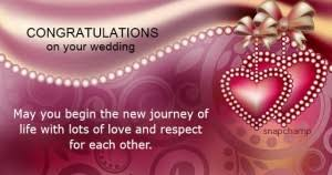 wedding wishes new journey may god bless you both greetings and wishes