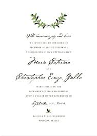 rehearsal dinner invitations wording fresh italian wedding invitations wording or wedding invitations