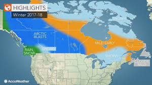 canada winter forecast snowstorms to frequent ontario quebec