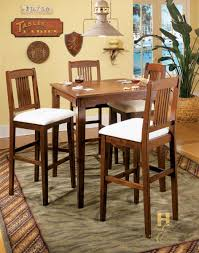 pubga e homelegance santee pub game table mission oak 975 33