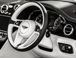 bentley white and black bentley steering wheel on instagram