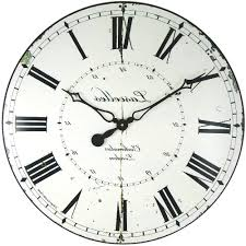 home design large modern wood wall clock chartreuse white or