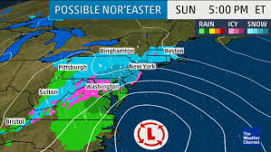 Weather Map New York by New England Could Get Foot Of Snow On First Day Of Spring Nbc News
