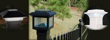 solar deck lights mini metal 2x2 3x3 posts