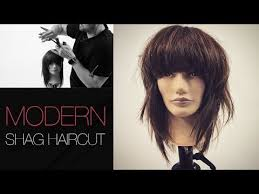 difference between a layerwd bob and a shag how to cut a modern shag haircut step by step youtube hair
