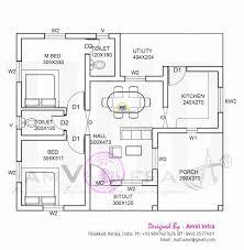 3 bhk single floor house plan kerala house plans single floor unique amazing kerala house plans