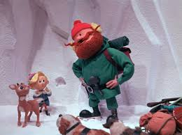 rudolph the nosed reindeer characters yukon cornelius and rudolph in rudolph the nosed reindeer