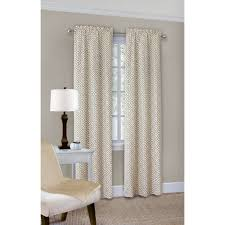 Walmart Sheer Curtain Panels Mainstays Wave Print Casual Curtain Panel Walmart