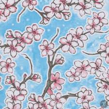 Cherry Blossom Upholstery Fabric 41 Best Textiles Images On Pinterest Fabric Wallpaper Valance