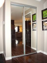 simple stylish mirrored sliding closet doors mirrored sliding