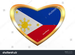 Roman Flag Colors Philippine National Official Flag Patriotic Symbol Stock